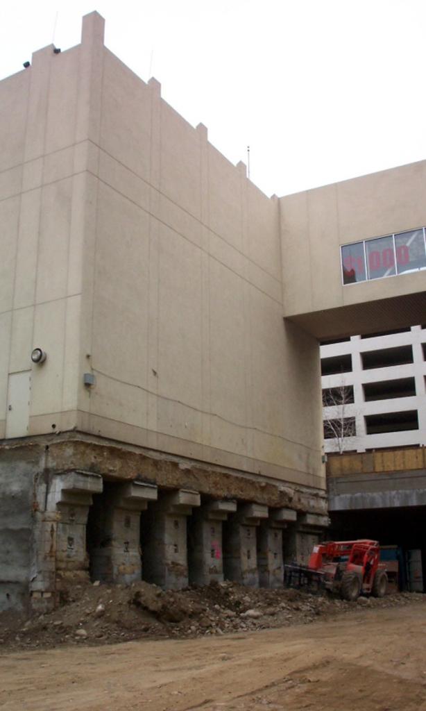 underpinning construction