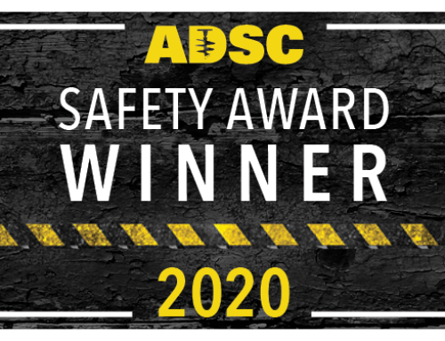 Schnabel Wins 2020 ADSC Safety Award